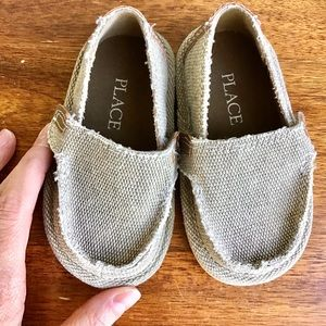 PLACE | Baby Canvas Shoes - Mint Condition!